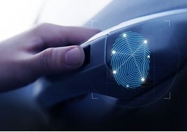 Hyundai Fingerprint security system