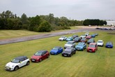 SMMT 'Drive to Zero' EV event at Millbrook Proving Ground