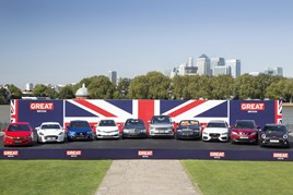 Am array of 2015's British-built vehicles