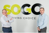 SOGO director of operations Mike Pearce and sales director.Lee O'Connell