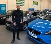 Solo Cars used car supermarket owner, James McConville