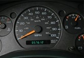 Clocking of a car