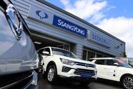 Seeker UK's new SsangYong Motor UK showroom in Chesterfield
