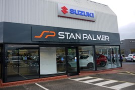 Stan Palmer has opened a Suzuki dealership in Carlisle