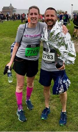 Startline Motor Finance have raised more than £3,500 for charity in the Great Scottish Run.