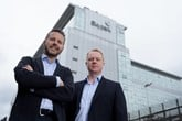 Paul Burgess, CEO and Gregor Sutherland, COO