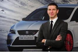 Steve Catlin, Seat UK head of sales operations
