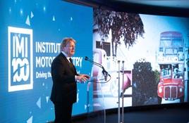 Steve Nash at the IMI Recognition Awards