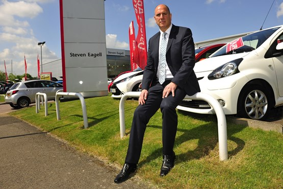 Steven Eagell, chief executive of the Milton Keynes-based Steven Eagell Group