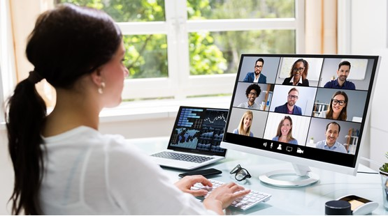 Video conference calling image