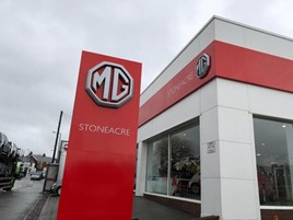 Stoneacre Motor Group's new MG Motor UK dealership in Hyde, Greater Manchester