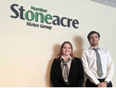 Stoneacre Motor Group social media managers Charlotte Stevens and Alex Hodgson