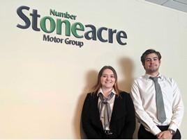 Stoneacre Motor Group social media managers Charlotte Stevens and Alex Hodgson