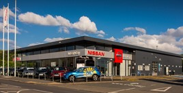West Way Nissan car dealership, Stourbridge