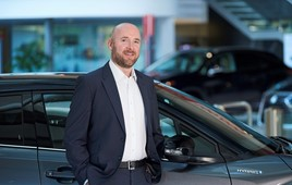 Toyota GB fleet operations general manager, Stuart Ferma