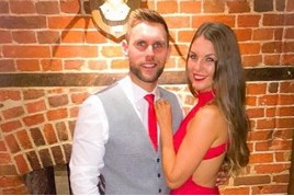 Lookers sales executive Stuart Hill and girlfriend Becky Dobson