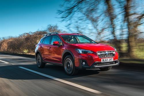 Rugged SUV focus: Subaru's XV
