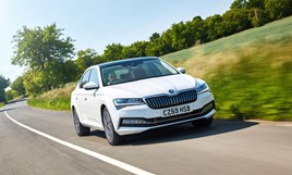 Electric debut: Skoda's Superb iV plug-in hybrid