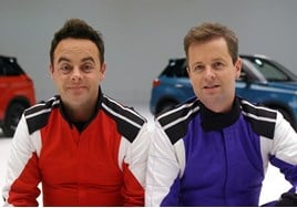 Saturday Night Takeaway hosts Ant McPartlin and Declan Donnelly