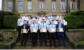 The latest graduates from Suzuki GB's Advanced Apprenticeship Programme (AAP)