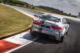 The JLR Special Vehicle Operations division's Jaguar XE SV Project 8