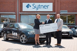 Sytner Group makes its annual donation to the Ben charity