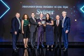 ​Sytner Group's North East representatives collect the Mercedes-Benz Retailer of the Year award