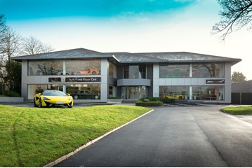 Sytner Group's Rolls-Royce and McLaren Automotive dual franchise facility in Wilmslow