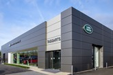 Taggarts  Land Rover dealership in Lanarkshire