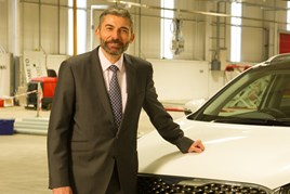 Yaser Shabsogh, Kia Motors (UK) commercial director