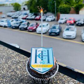 TC Harrison celebratory cakes were enjoyed by staff