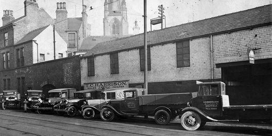 TC Harrison was founded in Sheffield in 1931