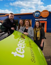 Motorpoint partners with Teens Unite