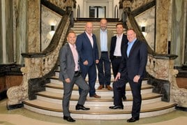 Tempus Automotive Investments (left to right): David Kendrick, Dave Vickers, Robin Luscombe, Paul Daly (advisor) and Steve Mills (director/shareholder).