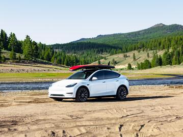 The new Tesla Model Y EV crossover