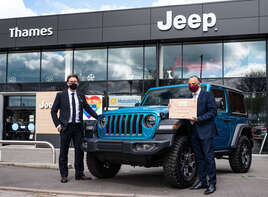 Thames Jeep named Jeep Retailer of the Year 2021