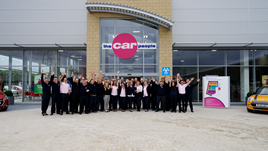 The team at The Car People's newly-opened Warrington car supermarket