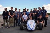 Edinburgh University's UK Formula Student team