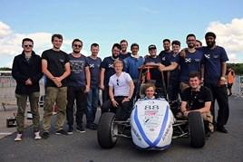 Edinburgh University's UK Formula Student team