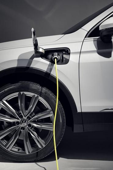 The new plug-in hybrid Volkswagen Tiguan SUV