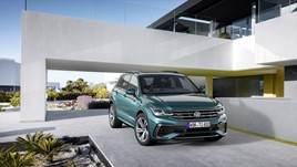 Updated Volkswagen Tiguan SUV