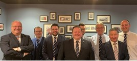 Stratstone national sales manager, Neill Richards, with the group's expanded corporate sales team