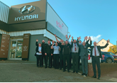 The team at Eden Motor Group's Hyundai Torbay dealership