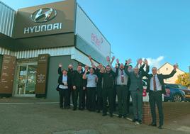 The team at Eden Motor Group's Hyundai Torbay dealership