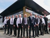 The team at JCT600's new Mitsubishi Motors dealership in Bradford