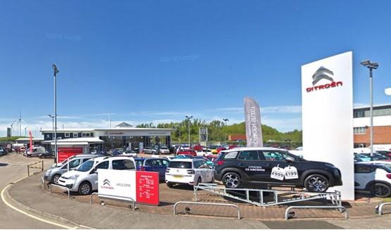 The Town Centre Garage Citroen dealership in Sunderland