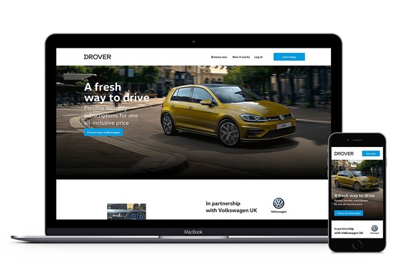 Drover Volkswagen page