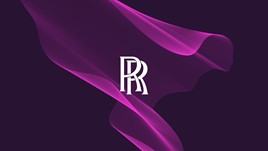 Rolls-Royce Motor Cars' new corporate colours and 'Spirit of Ecstasy Expression' graphic