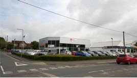 For sale: Foray Motor Group's former Andover Ford showroom