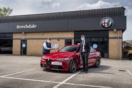 Award winners: Beechdale Motor Group named Alfa Romeo Retailer of the Year 2020